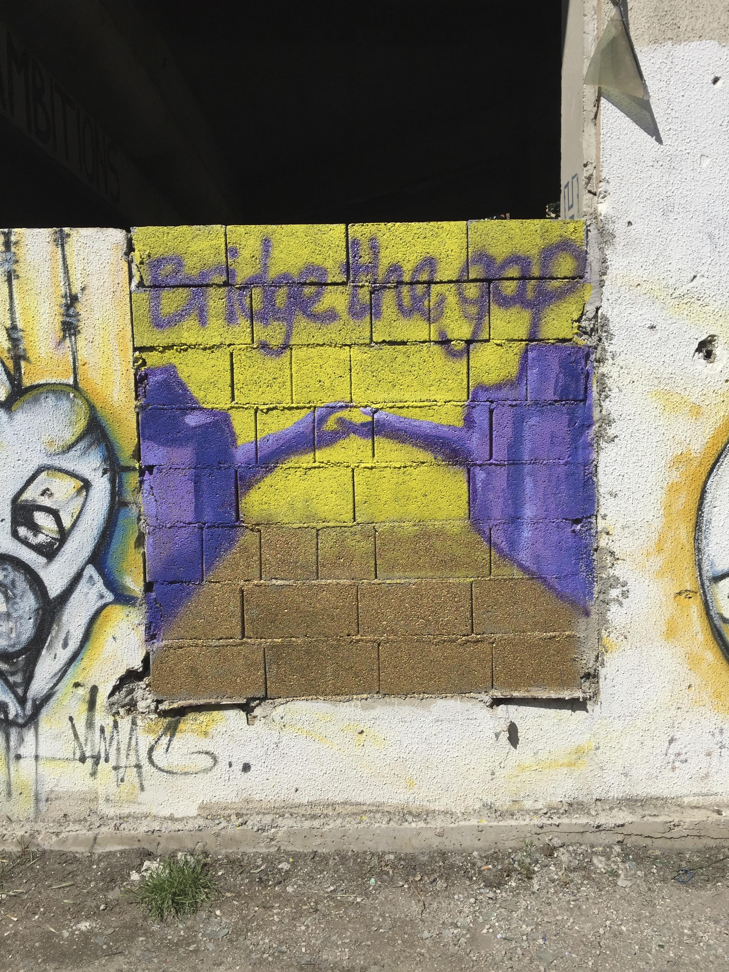 Mostar graffiti