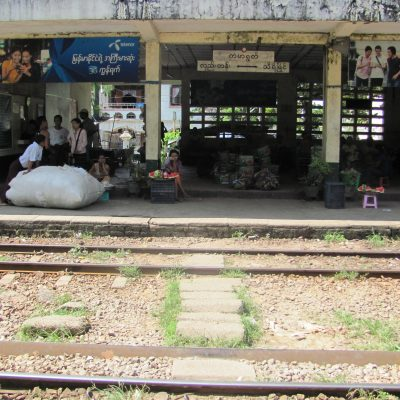 yangon circular train station