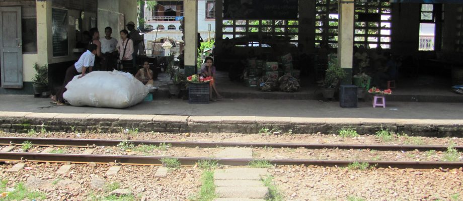 Riding The Yangon Circular Train