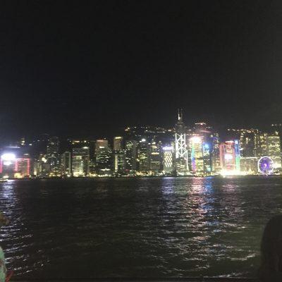 Chillin in Hong Kong