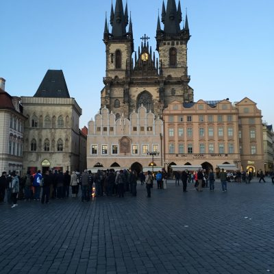 Getting my groove back in Prague